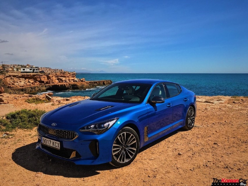 Review: Kia Stinger 2.2 Diesel 200 hp 8 AT GT-Line