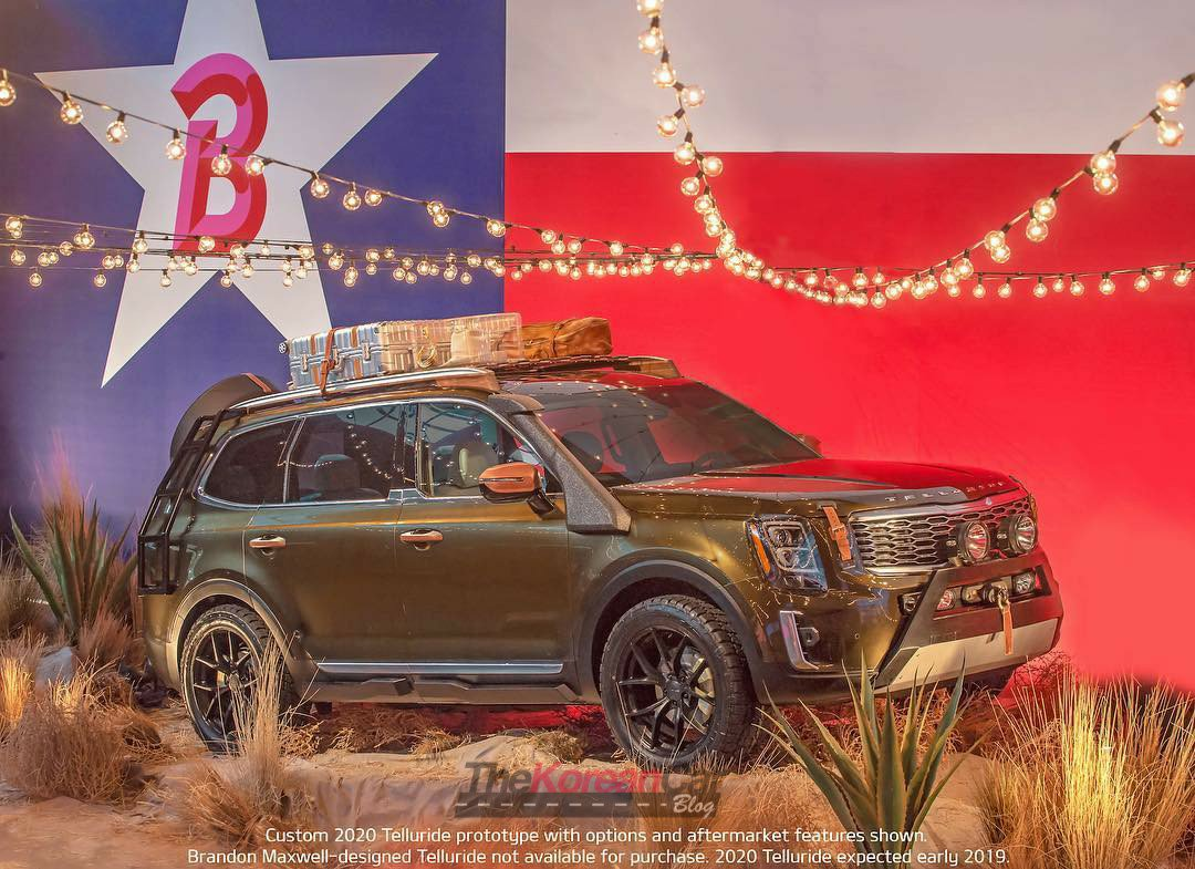 Kia Telluride Not Coming to European Market