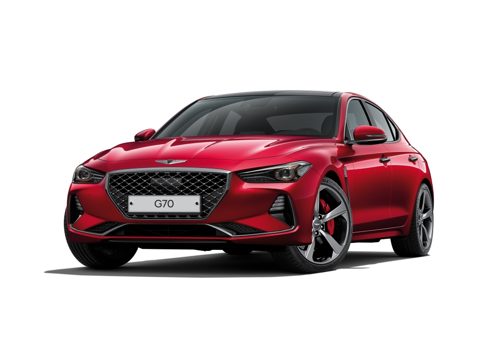 2019 Genesis G70 Announced in South Korea (1)