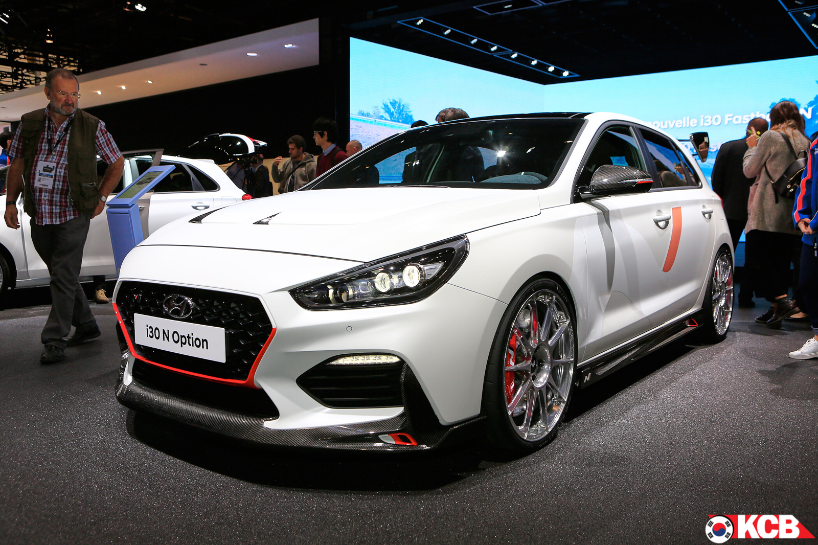 "Hyundai i30 N ""N Option"" Live Pictures"