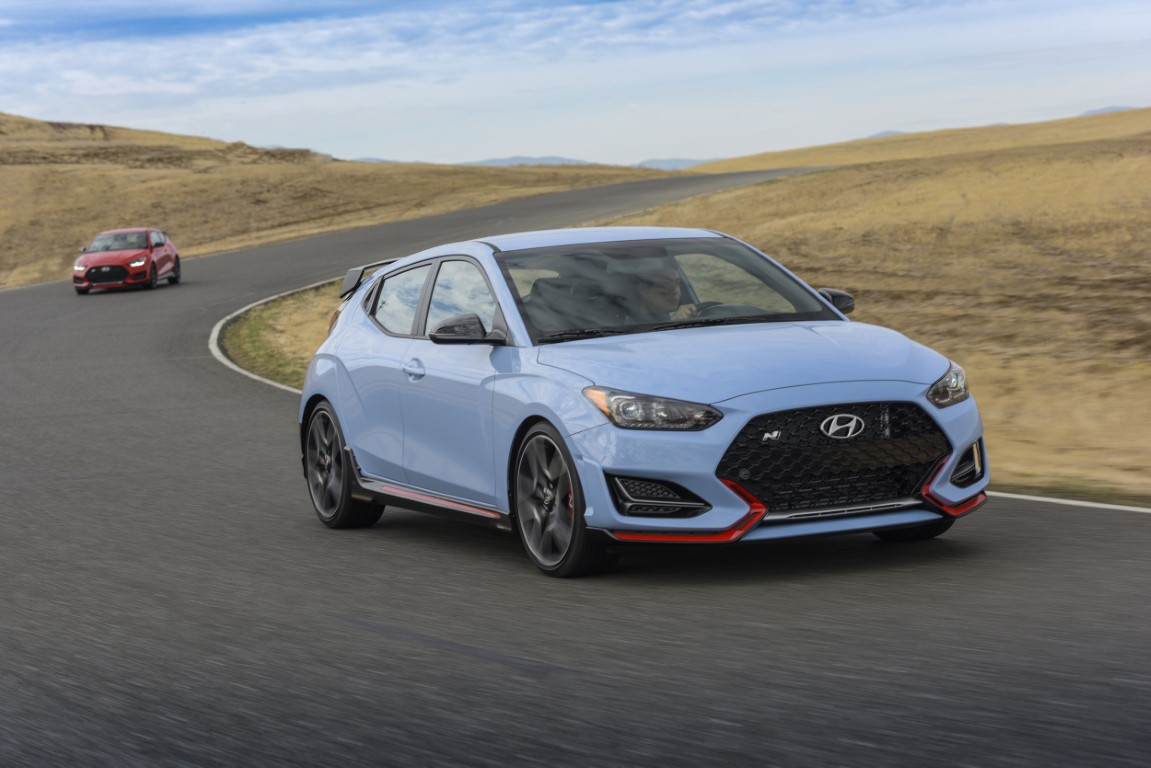 Hyundai Launches Veloster N at Thunderhill Raceway