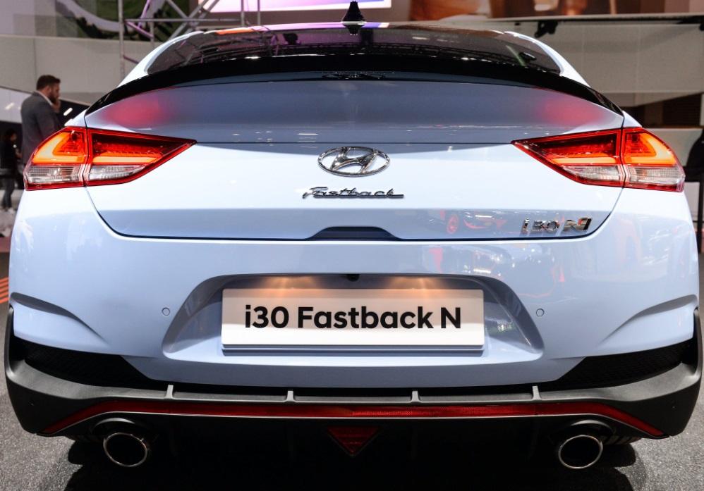 Hyundai i30 Fastback N Makes Debut at Paris