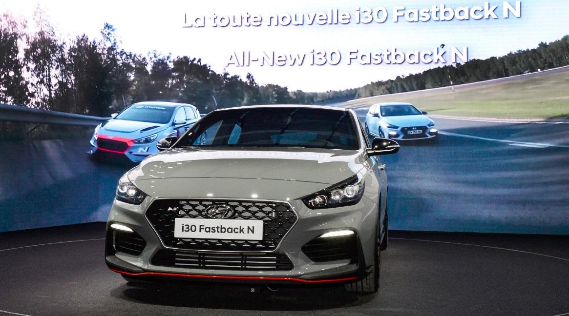 hyundai i30 fastback n paris motor show