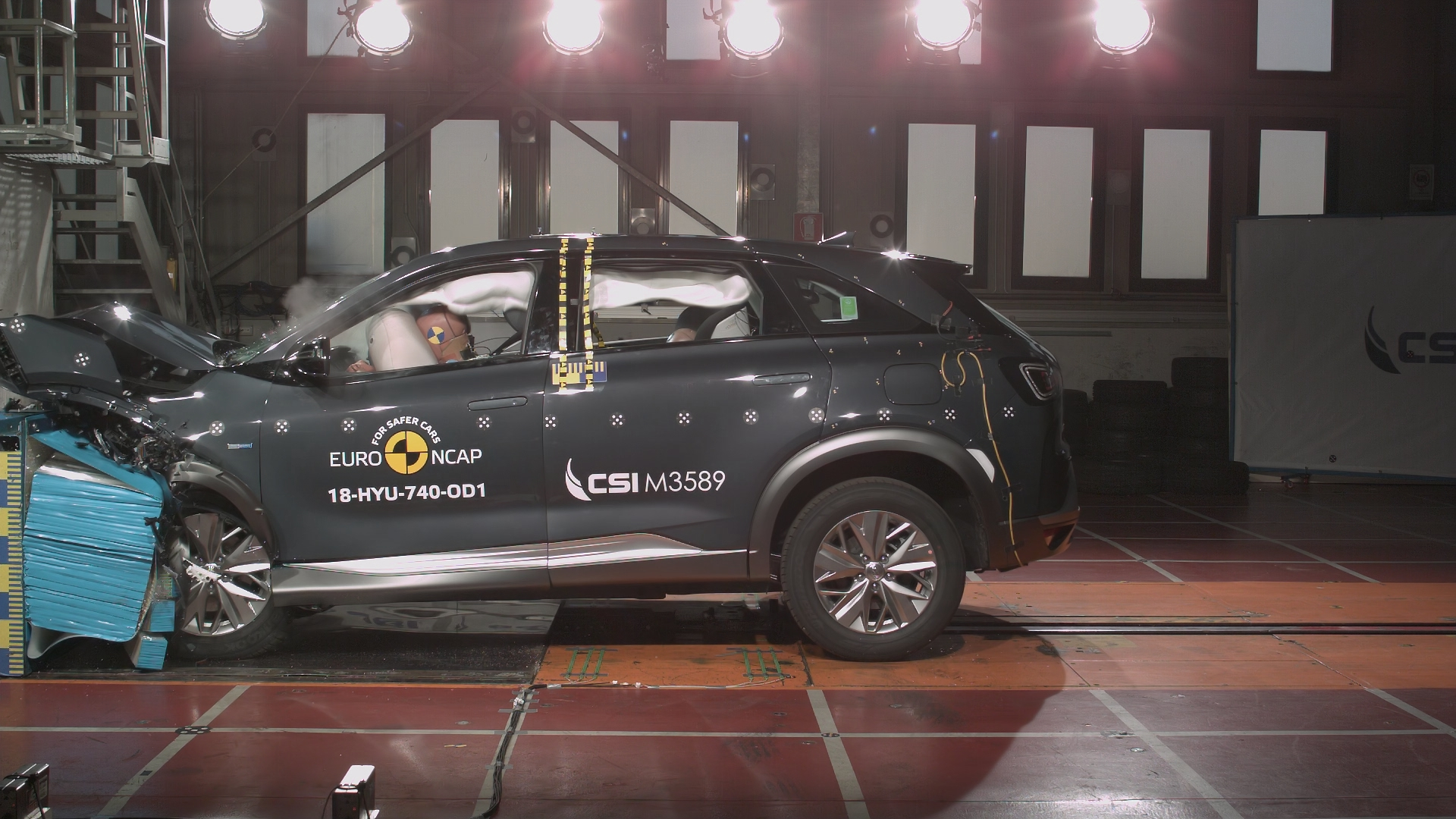 Hyundai NEXO Got 5-Star Rating from EuroNCAP Crash Test