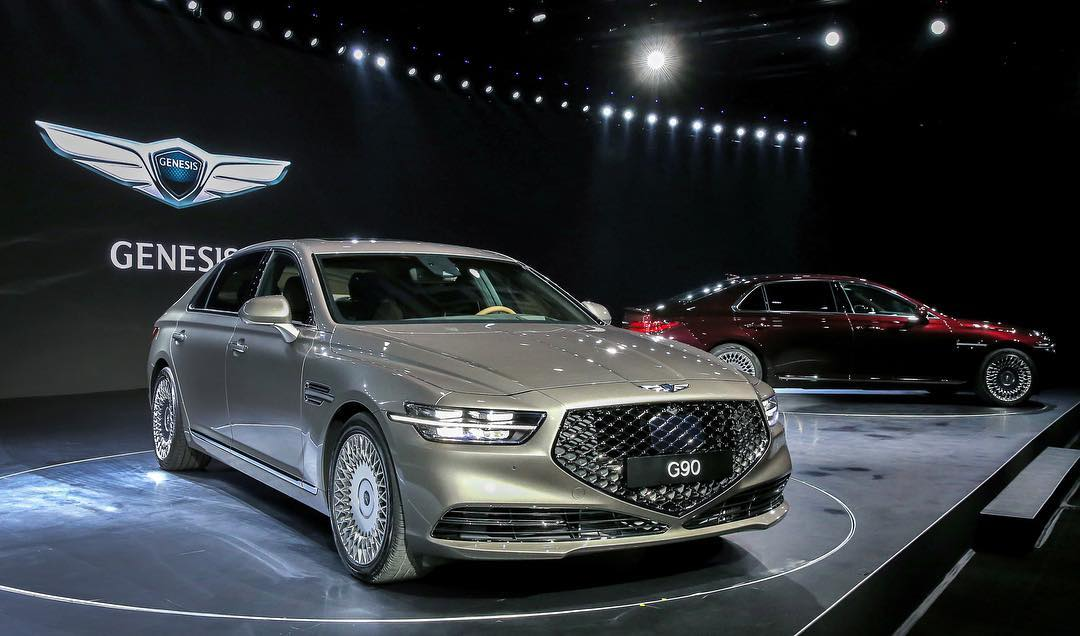 Genesis Motors Unveils Redesign G90 Flagship Sedan