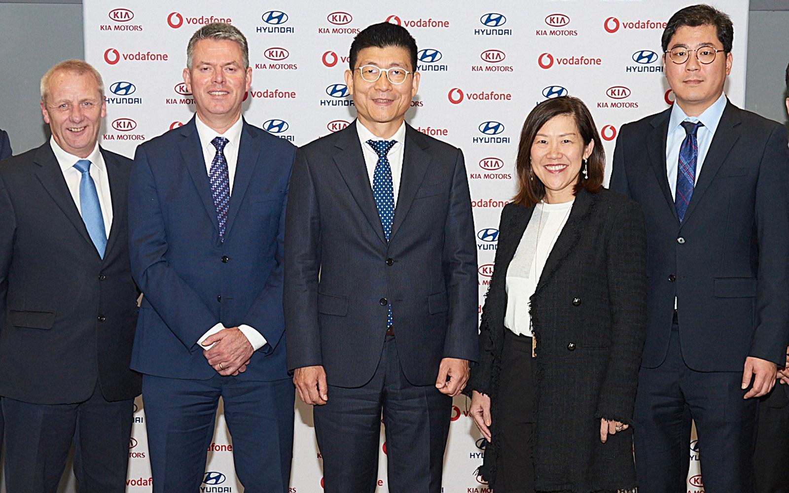 Hyundai & Kia Partner w/ Vodafone for Future IT Systems