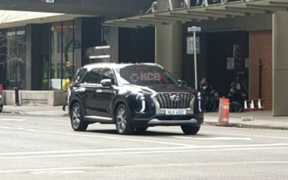 hyundai palisade caught undisguised 3