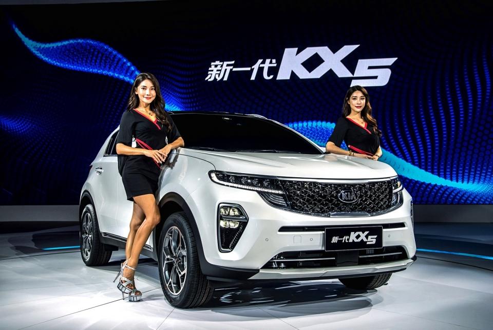 Kia KX5, China-only Sportage Returns w/ New Design
