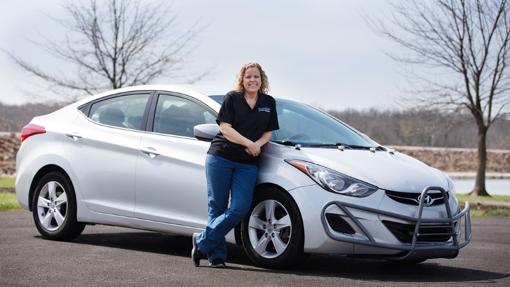 Hyundai Elantra Owner Drives 1 Million Miles in 5 Years