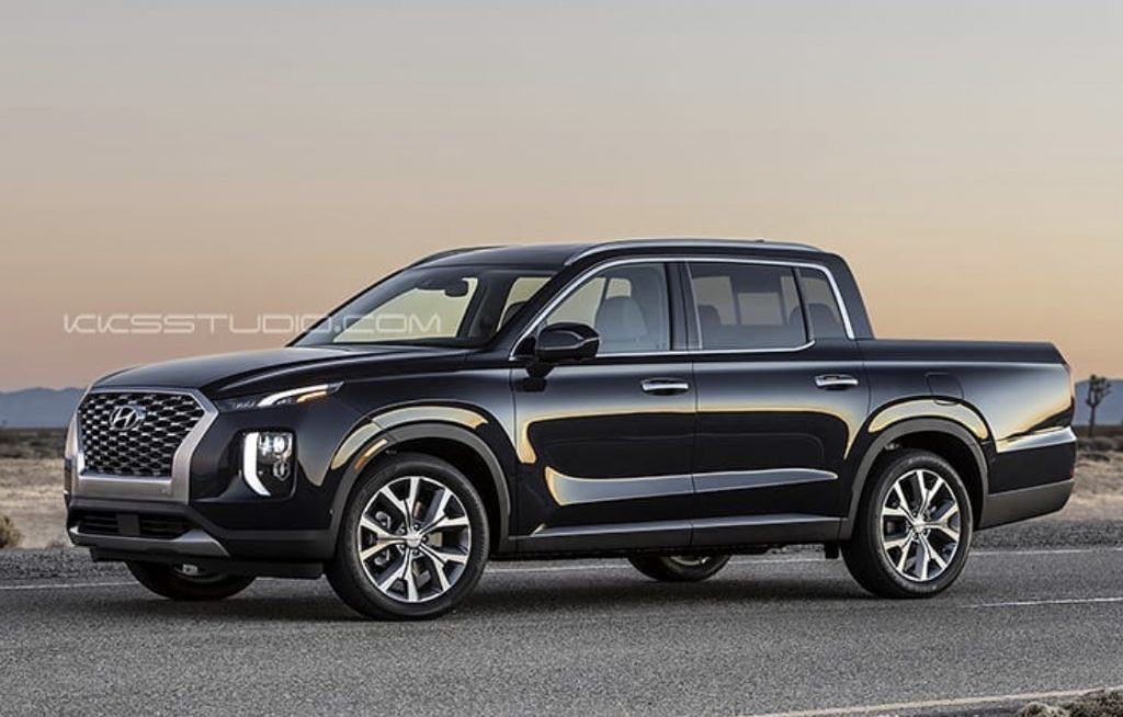 hyundai palisade pick-up