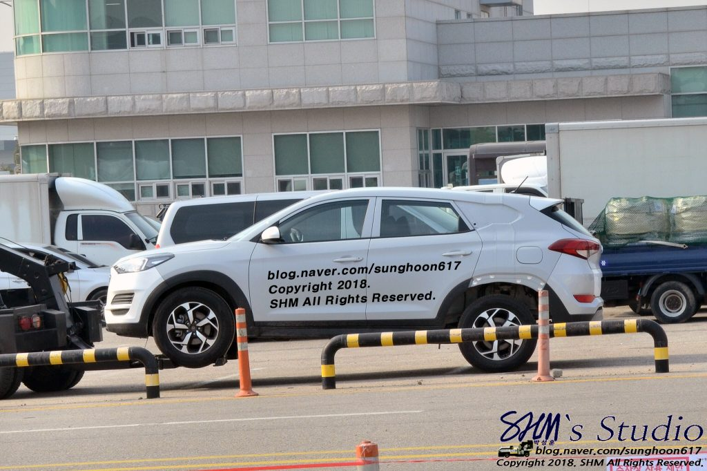 hyundai tucson test mule, could be santa cruz pick-up (7)