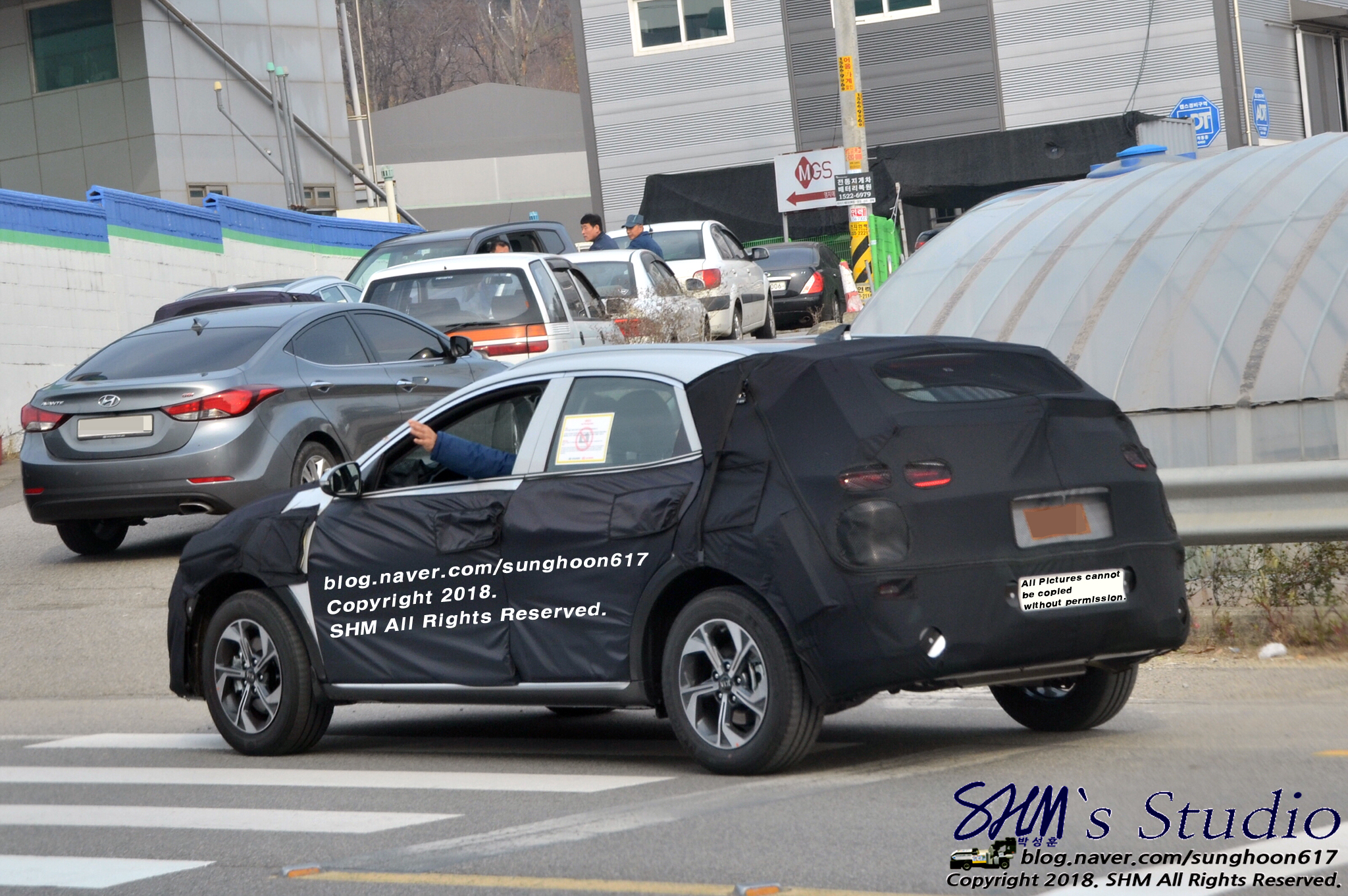 2019 Kia Ceed SUV Spied in South Korea