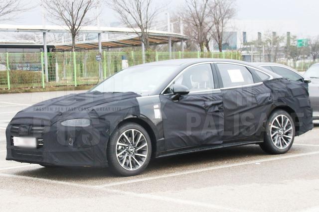 2020 Hyundai Sonata Spied, New Details