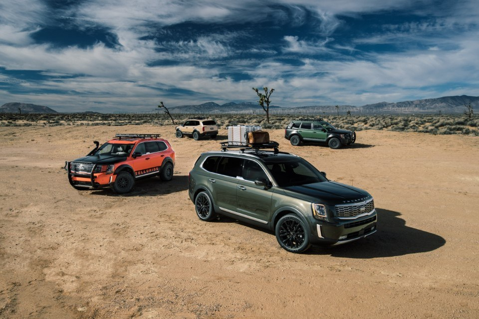 Kia Telluride Could Offer Off-Road Accesories from SEMA Concepts