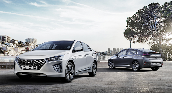 Hyundai Revealed Ioniq Facelift in South Korea