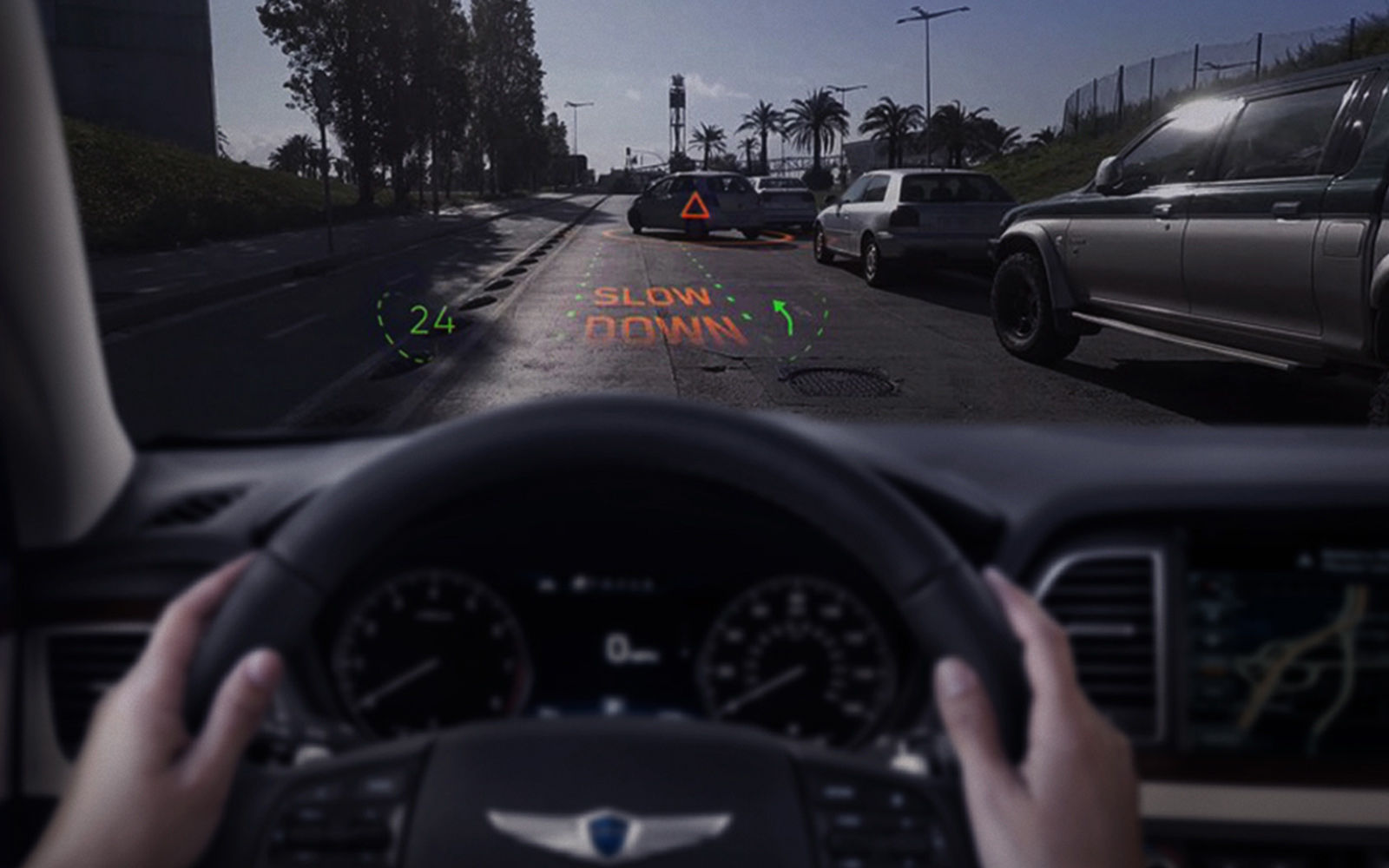 Hyundai & WayRay Unveil Next-Gen Visual Technology at CES 2019
