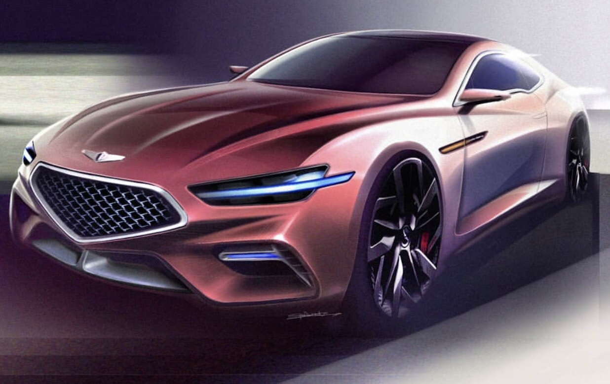 Check How a Genesis Coupe Reborn May Look