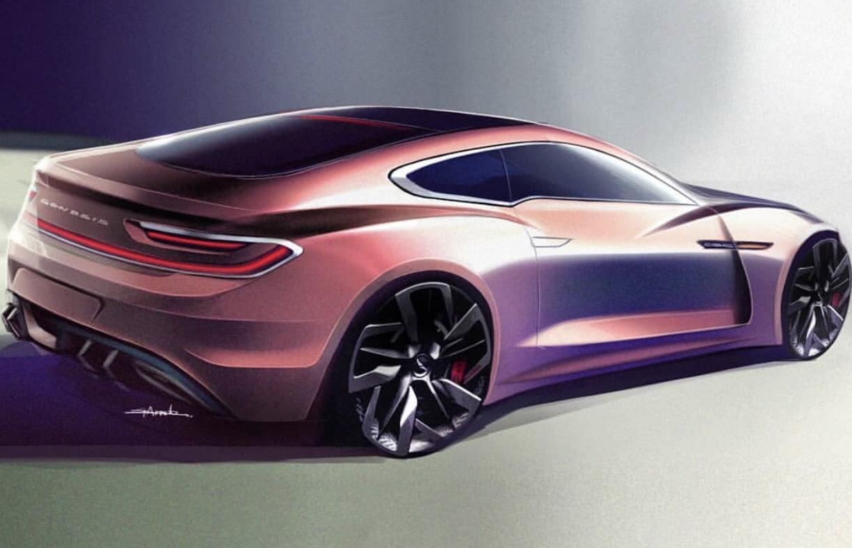 Genesis Coupe Render 2