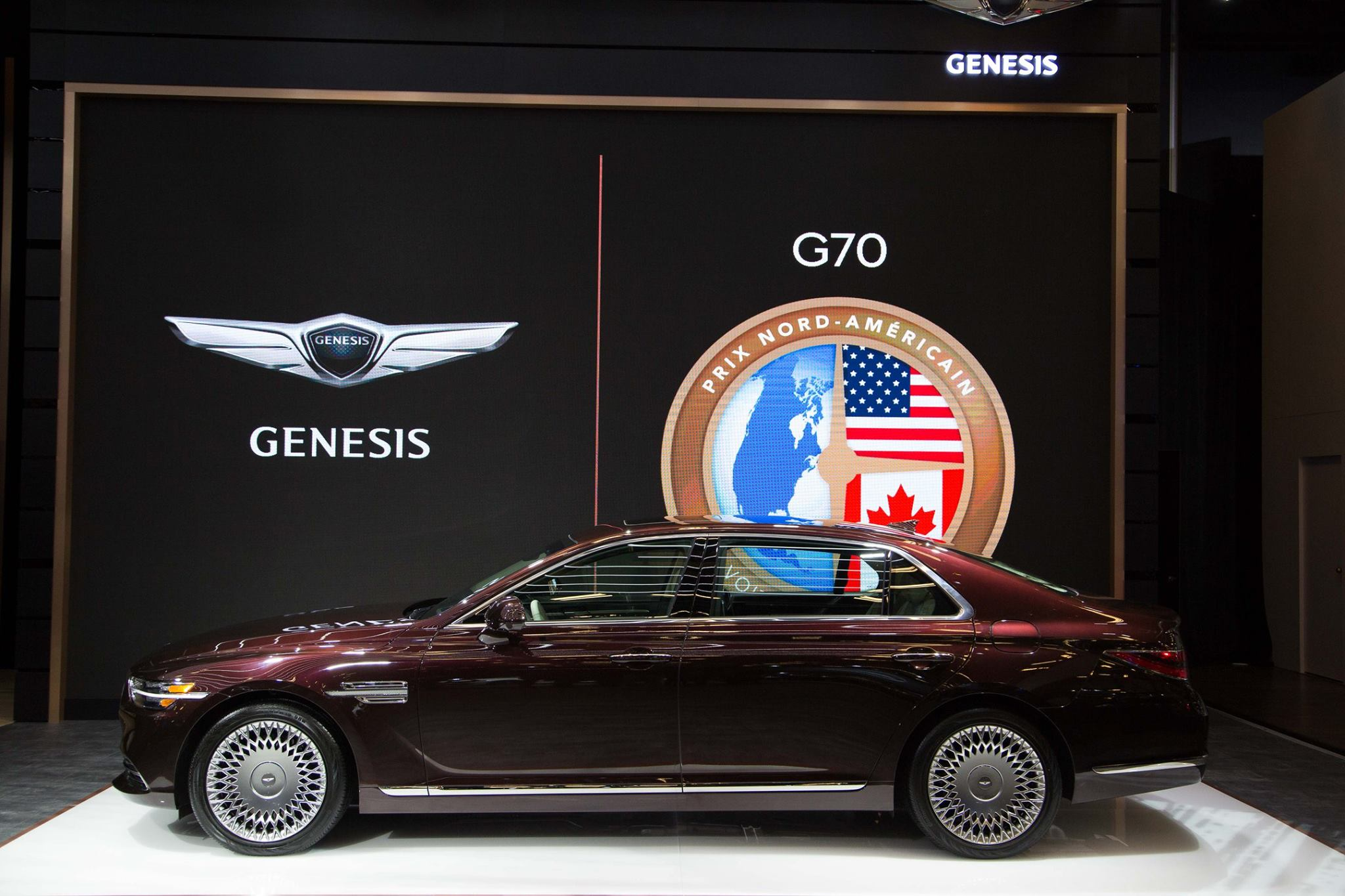 North American Spec Genesis G90 Facelift Unveiled at Montreal AutoShow