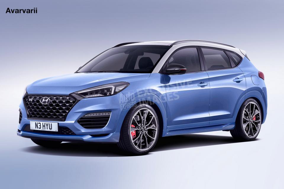 Hyundai Tucson N to Have 340 hp & All Wheel Drive