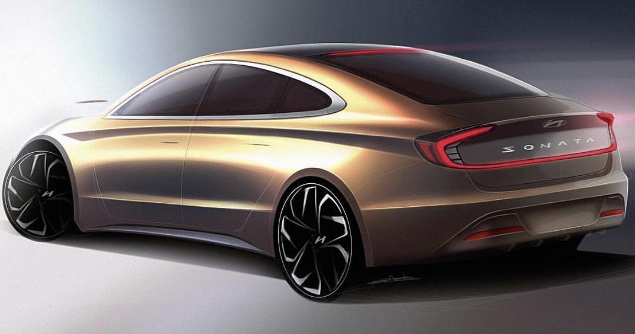 2020 Hyundai Sonata Rendered by a Fan