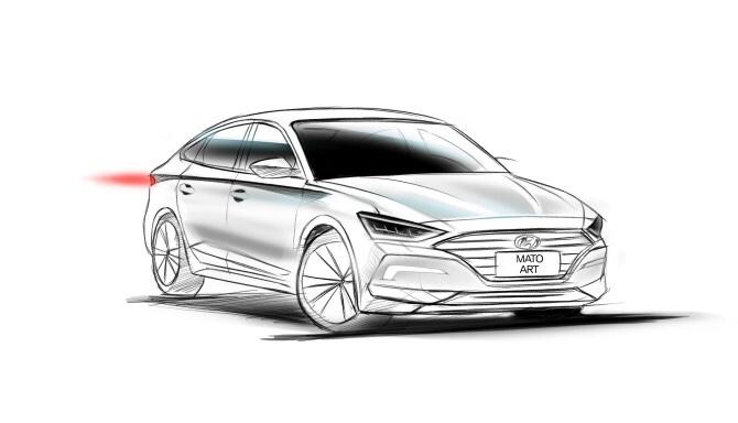 8th Gen Hyundai Sonata Rendered