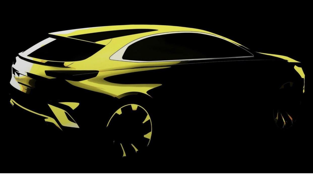 Kia XCEED Teased Ahead Geneva Debut
