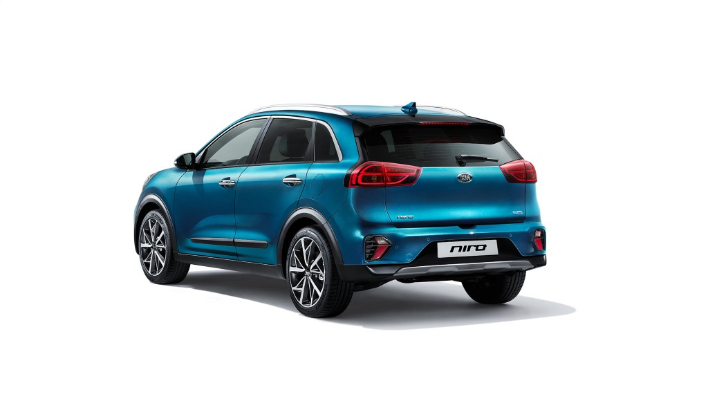 Kia Niro Facelift Revealed Ahead Geneva