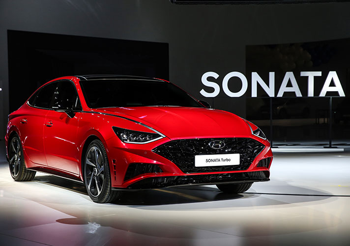 Hyundai Motor's All-New Sonata 1.6 Turbo and 'N Performance' Parts to Debut at 2019 Seoul Motor Show