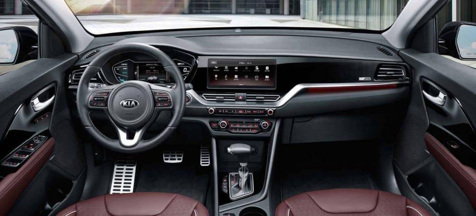 Kia Niro Interior >> New Details Of Kia Niro Facelift Revealed Including