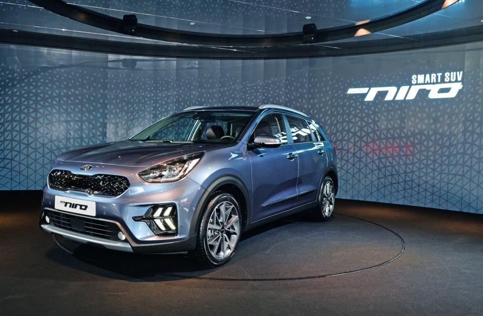 New Details of Kia Niro Facelift Revealed, Including Interior