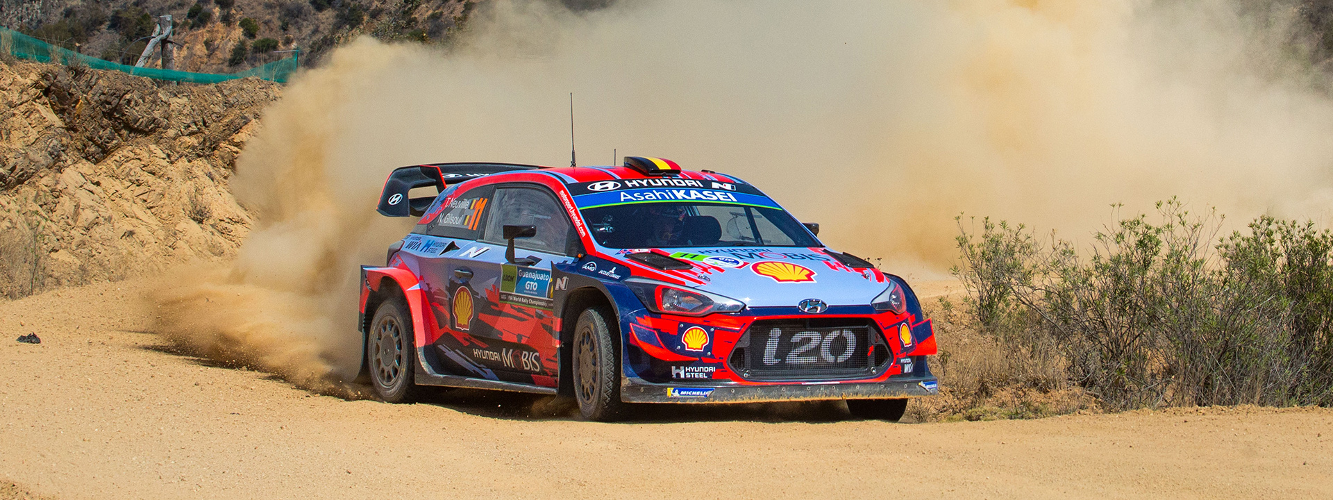 Hyundai Motor secures important points at Rally Mexico 2019