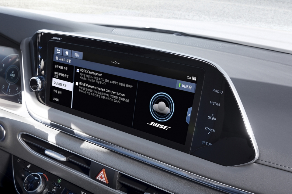 All-New Sonata to Have Bose Premium Sound System