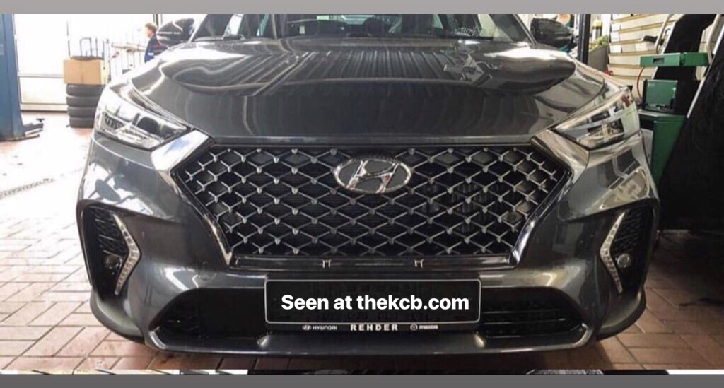 Hyundai Tucson N-Line Leaked