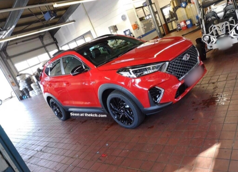New Hyundai Tucson N-Line Leaked Images