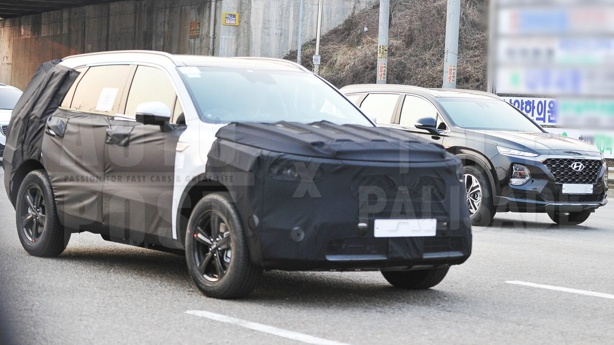2020 Kia Sorento Caught on Camera