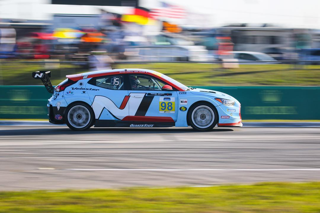 Hyundai Veloster N TCR Placing Top Five at Sebring