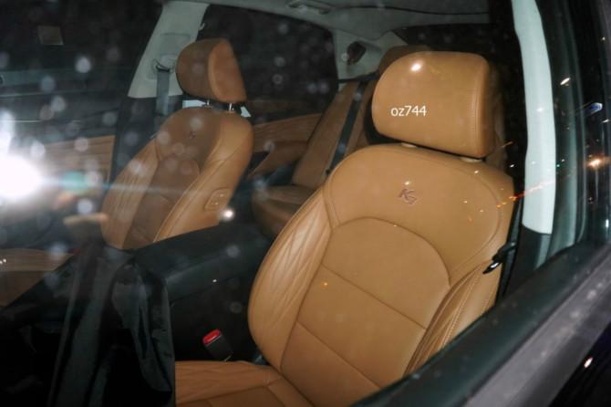 Kia K7 Facelift Spied Again