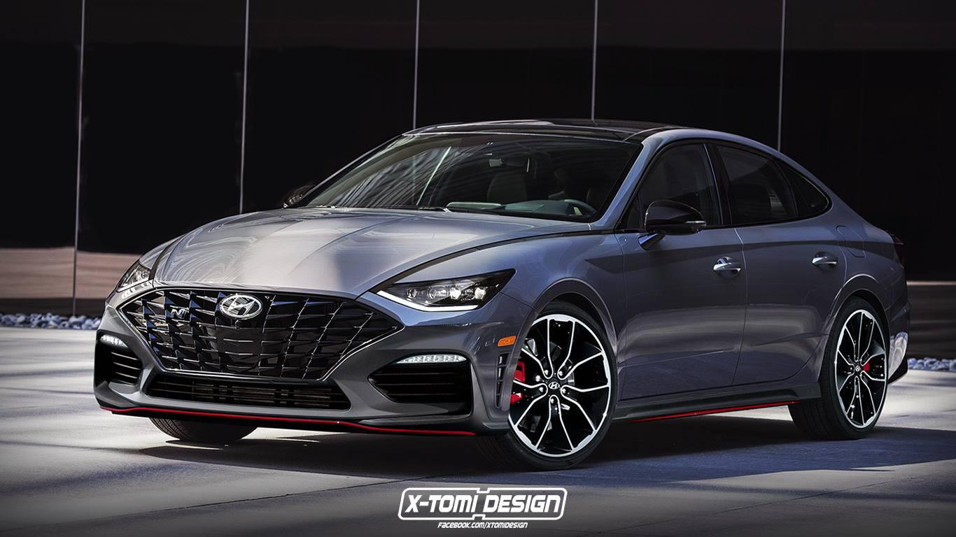 2021 Hyundai Sonata N Render