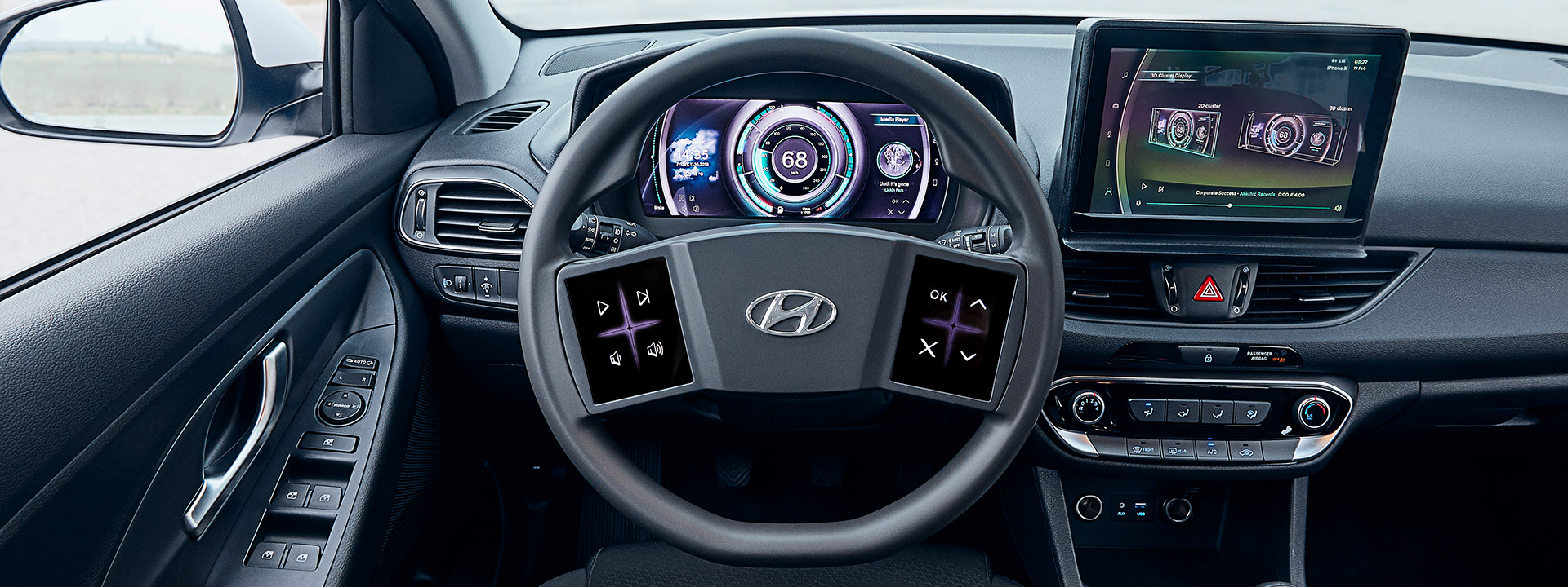 Hyundai Offers Sneak Peek of Virtual Cockpit Technology