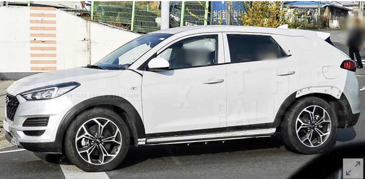 New Genesis GV70 SUV Test Mule Spied