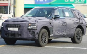 Genesis GV80 second stage spied (4)