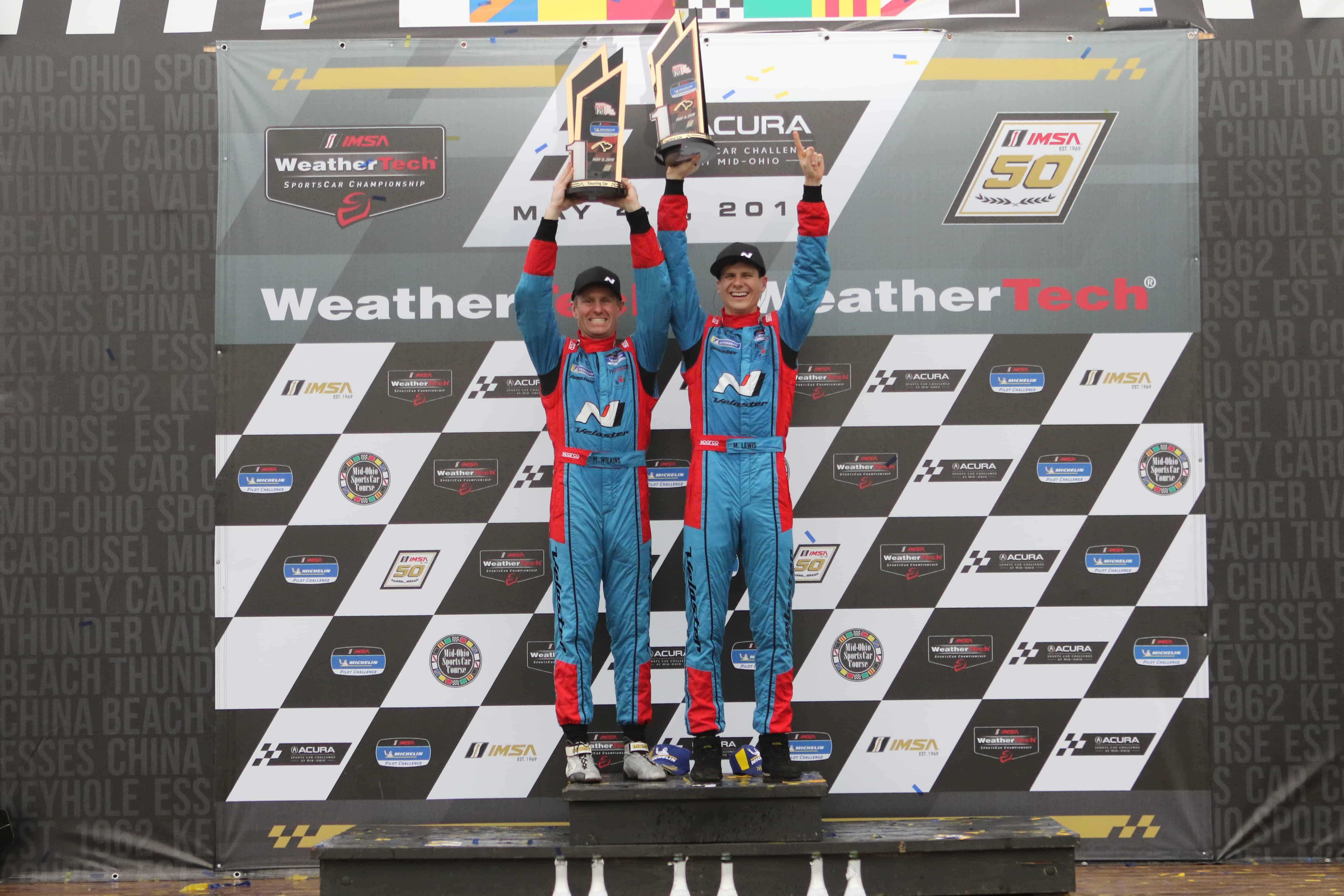 Bryan Herta Autosport Takes Victory At Mid-Ohio 120