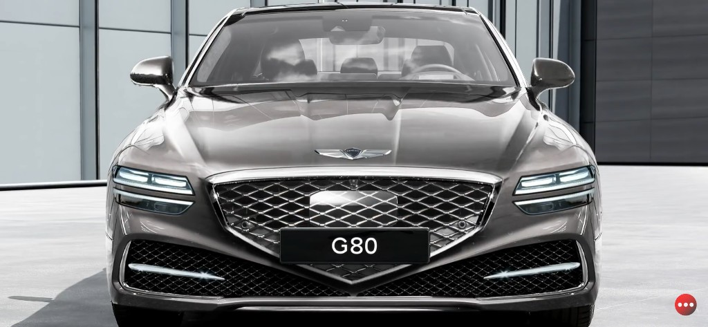 Next-gen Genesis G80 Rendered