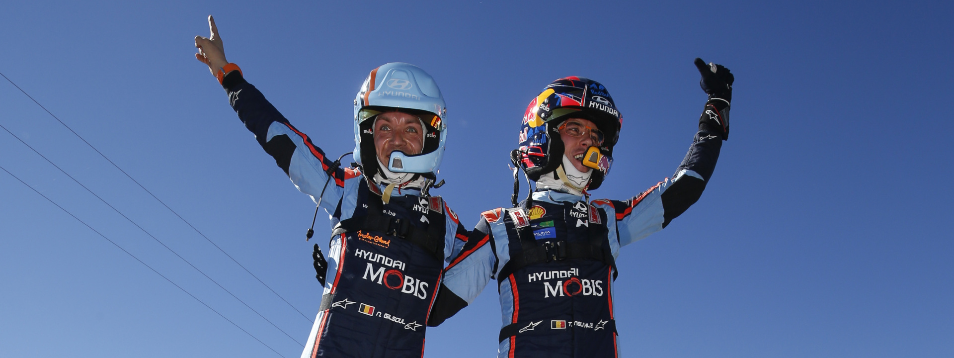 Hyundai Motor Sport with double win at Rallye Argentina