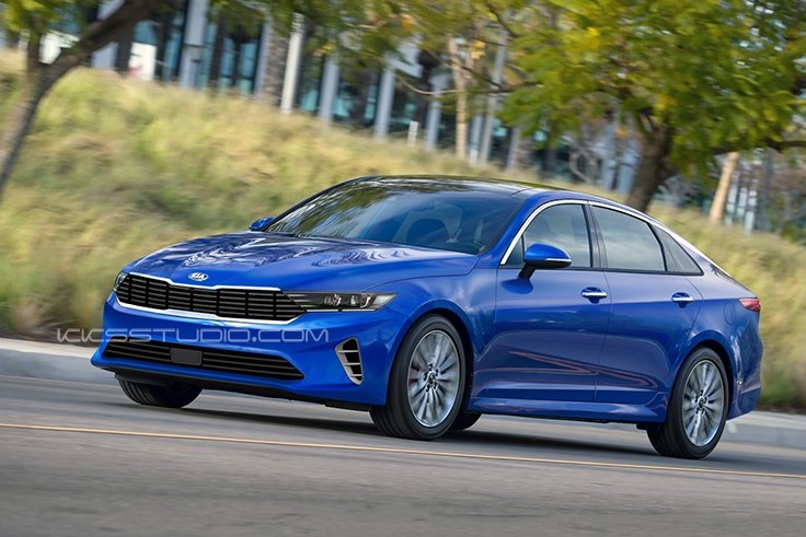 2021 Kia Optima Render by Kksstudio