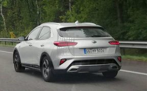 kia xceed spied undisguised