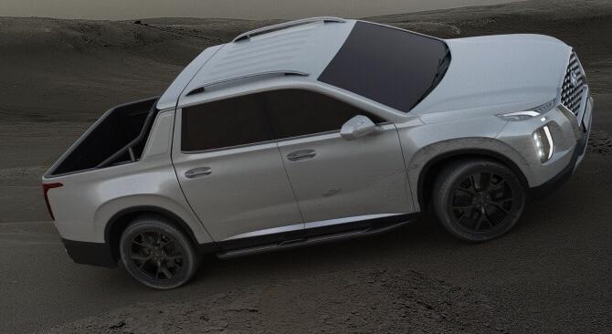 Dreaming with a Hyundai  Palisade Pick-up