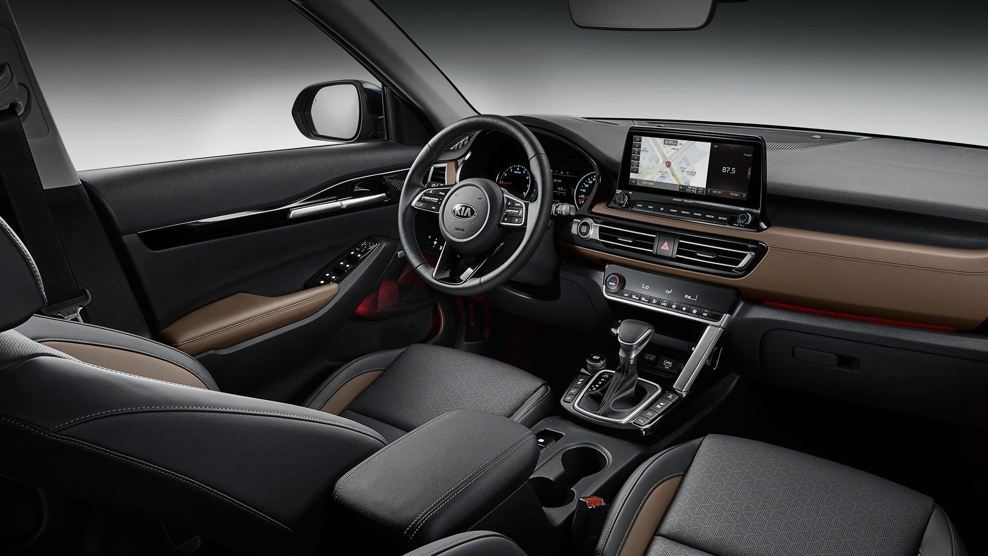 Kia Reveals Seltos Compact SUV Interior