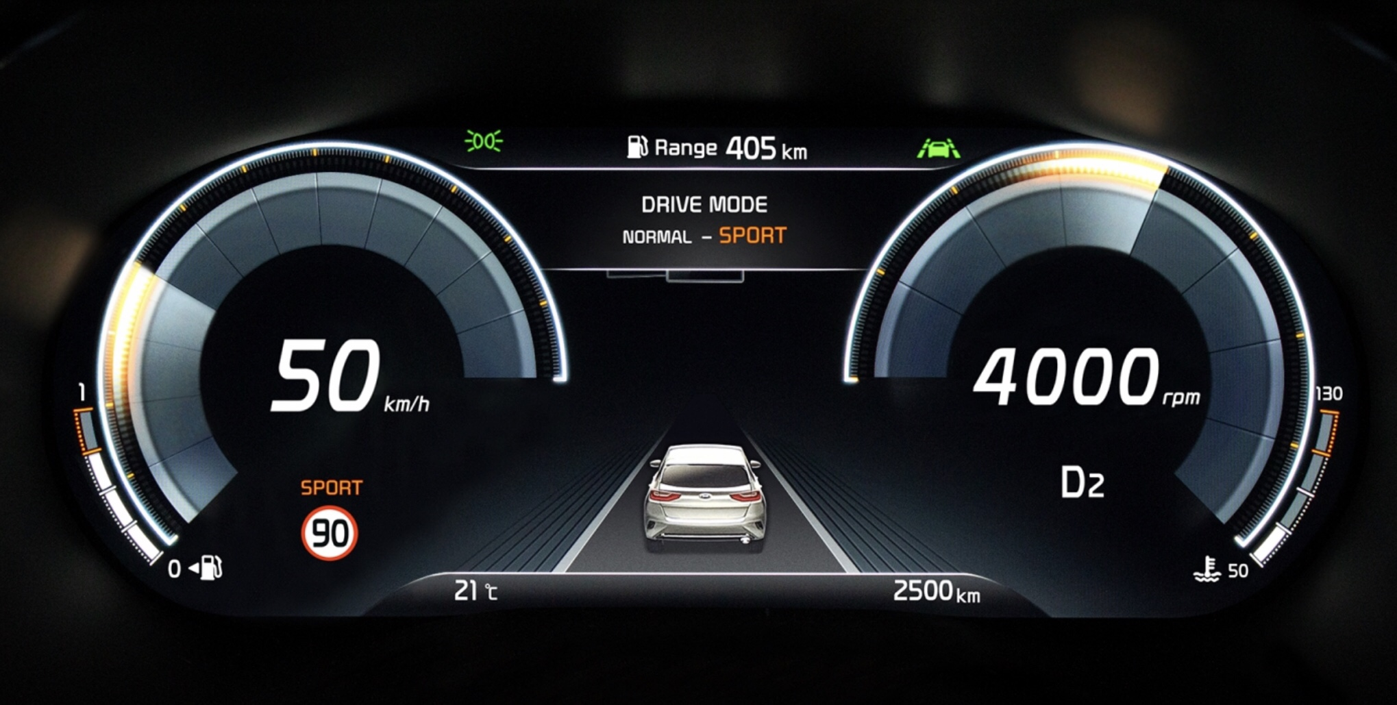 Kia Previews New Digital Cluster, to Debut in the XCeed